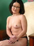 Small Tits Asian American Milf - asian