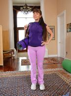 Mature Camel Toe On Alexandra Silk - clothed