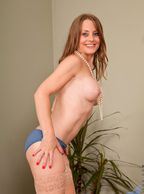 Topless Sofia Rae With A Smile - topless